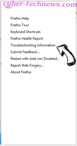 Search.fooriza.com Firefox troubleshooting