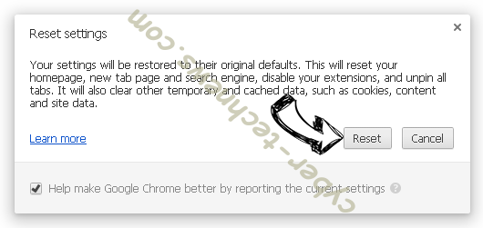 wwnc.xyz Chrome reset