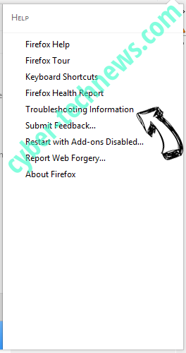 Search.Browserio.com Virus Firefox troubleshooting
