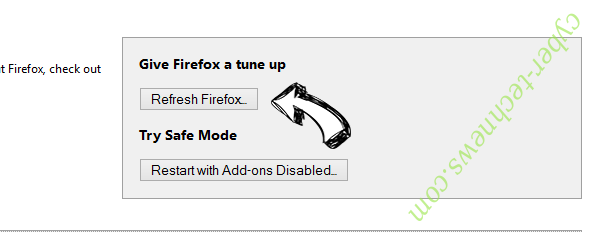 nJoyMusic Now Firefox reset