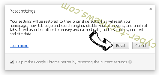 History Cleaner from Chrome Chrome reset