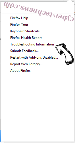 Kickay.com Redirect Firefox troubleshooting