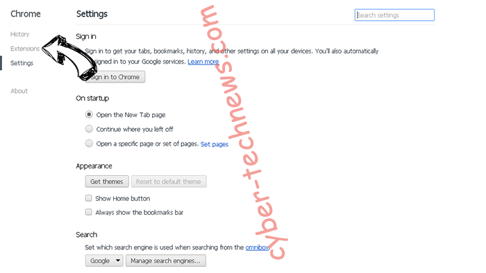 ShoppingDealsLive Toolbar Chrome settings