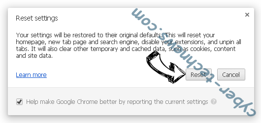 Ero-advertising.com Chrome reset