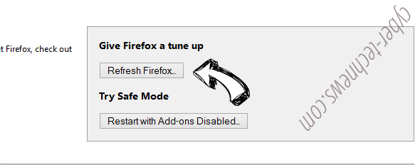 Search.gg Firefox reset
