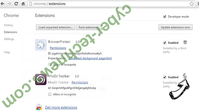 Offers.wildbearads.bid Chrome extensions remove