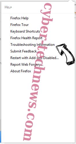 Trustednotice.news Firefox troubleshooting