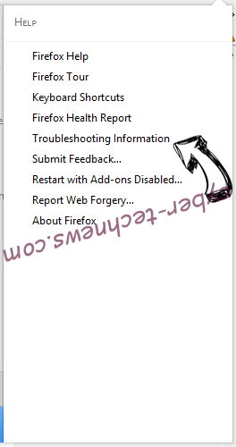 Search Anonymo Virus Firefox troubleshooting