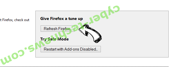 Ultimatesearchweb.com Firefox reset