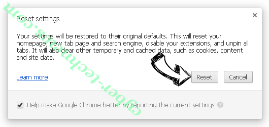Search.webfinderresults.com Chrome reset