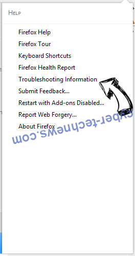 Search.webfinderresults.com Firefox troubleshooting