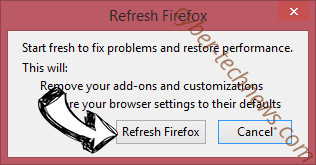 Chrome Search Firefox reset confirm