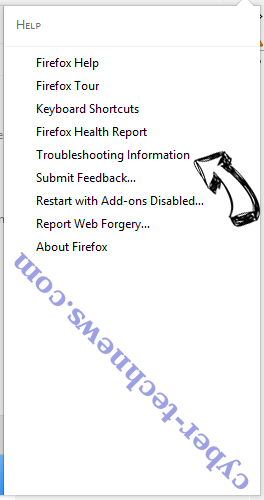 Linkey Search Virus Firefox troubleshooting