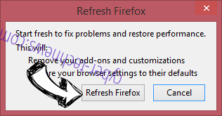 Coinup.org Firefox reset confirm