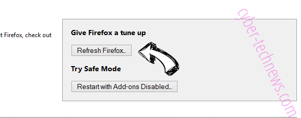 Coinup.org Firefox reset
