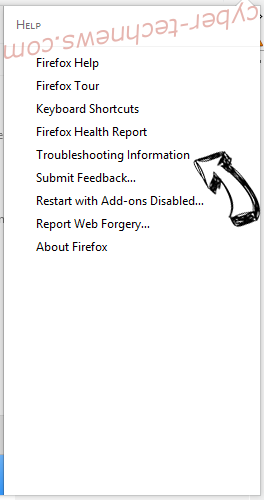 RinoReader Adware Firefox troubleshooting