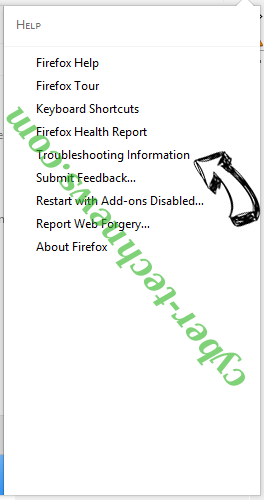 Search.terrificshoper.com Firefox troubleshooting