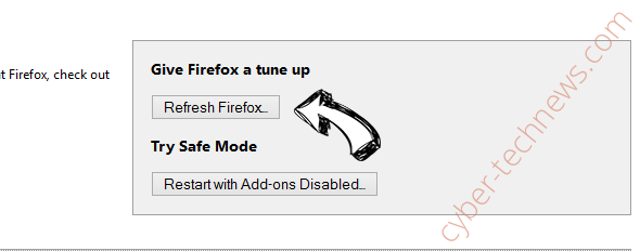 Search.hmytvcenter.co Firefox reset