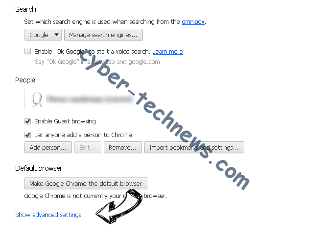search.stormygreatz.com Chrome settings more