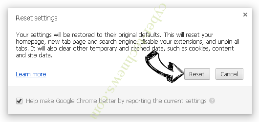 Scontentdelivery.info Chrome reset