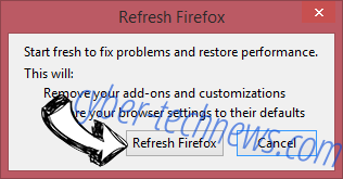 Search.hmyflightfinder.net Firefox reset confirm