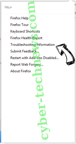 Realpush.media virus Firefox troubleshooting