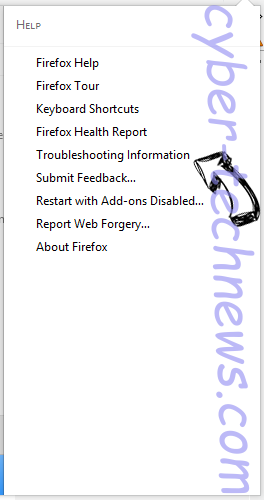 Search.hgomaps.co Firefox troubleshooting