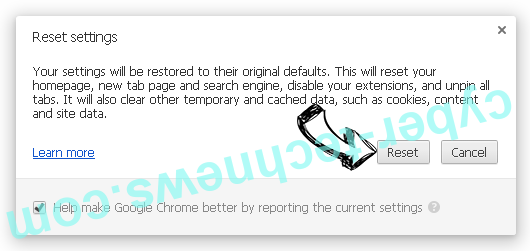 AudioToAudio toolbar Chrome reset