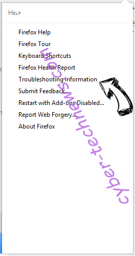 SearchGrape.com Firefox troubleshooting