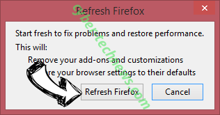Search.bravogol.com Firefox reset confirm