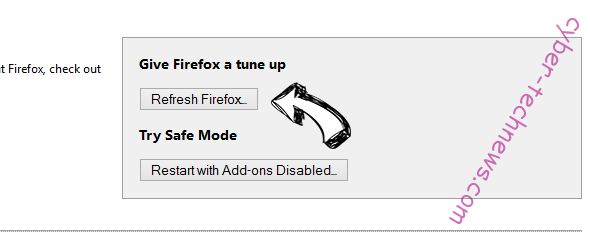 Housineschard.info Firefox reset