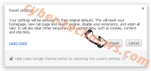 Search.getmybestyear.com Chrome reset