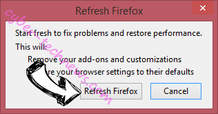 Search.getvideomonkey.com Firefox reset confirm
