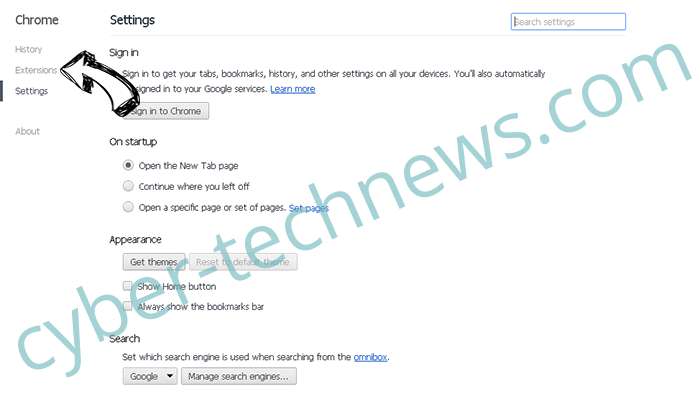 Notify-lastnews.online Chrome settings