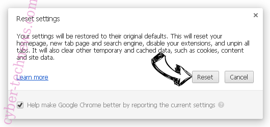 Ptinouth.com Chrome reset