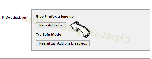 Acrohnabacility.info Firefox reset