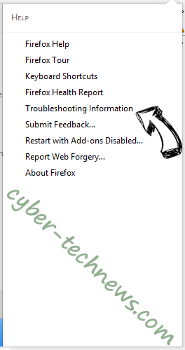 Servedbytrackingdesk.com Firefox troubleshooting