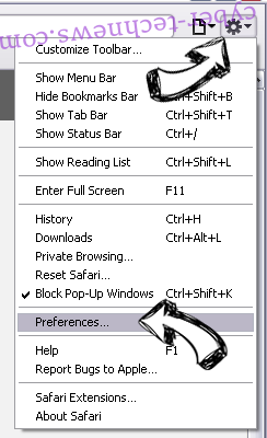 Fydistianper.com virus Safari menu
