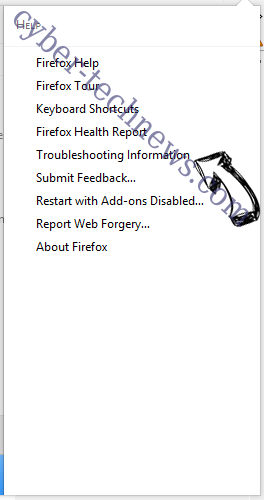 Search.hfastpackagetracker.net Firefox troubleshooting