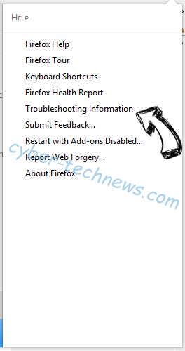 Search-me.club Firefox troubleshooting