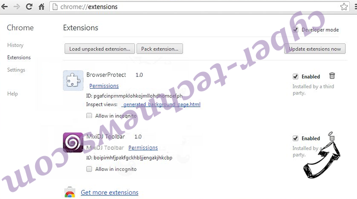 PDF Mac Master Virus Chrome extensions remove