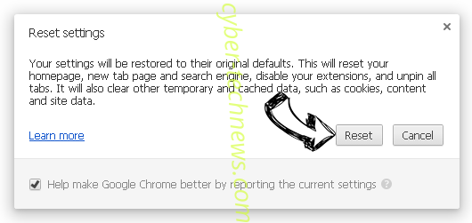 Weknow Chrome reset
