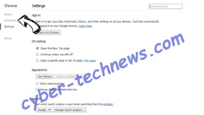 PDF Mac Master Virus Chrome settings