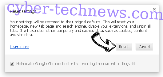 Savvy.search.com Chrome reset