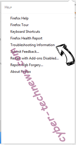 Search.ht-cmf.com Firefox troubleshooting