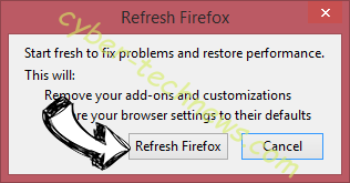 Rapid-find.net Firefox reset confirm