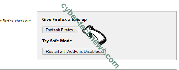 Click.newsfeed.support Firefox reset