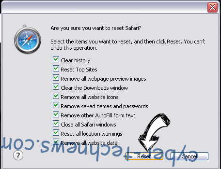 Mapdirectionspro.co virus Safari reset