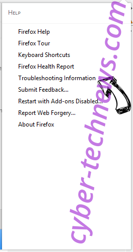 Feed.funkystreams.com Firefox troubleshooting