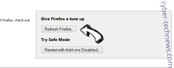 Search.papershorty.com Firefox reset